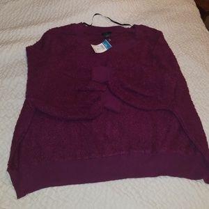 NWT 2x slouchy sweater